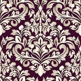 Decorative damask illustration