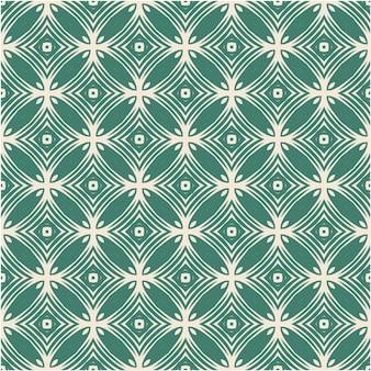 Decorative damask seamless pattern background