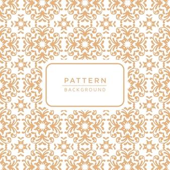Decorative elegant ornamental pattern background