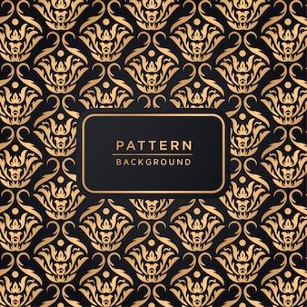 Decorative elegant ornamental pattern