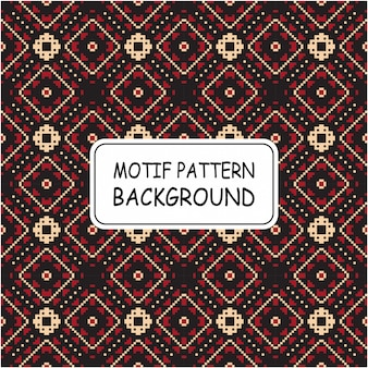 Decorative ethnic pattern motif background