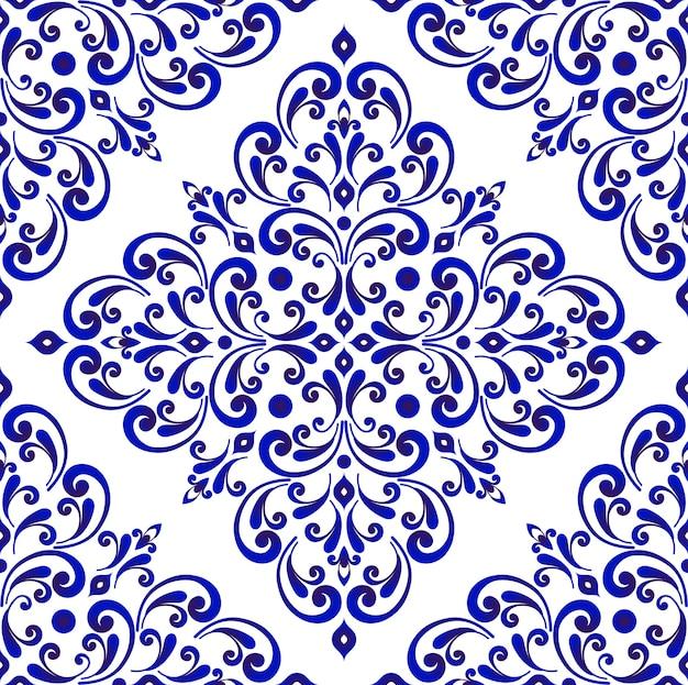 Декоративный цветочный узор бесшовные