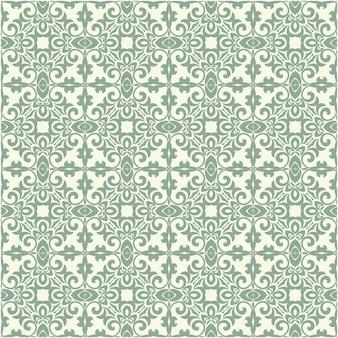 Декоративный цветочный узор бесшовные традиционный дизайн