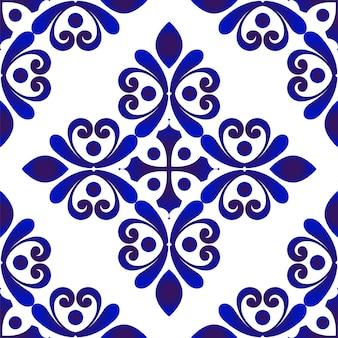 装飾的な花のシームレスなパターン