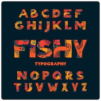Декоративный набор шрифтов