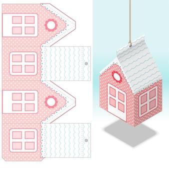 装飾的な掛かる紙の家の装飾の実物大のダイカット