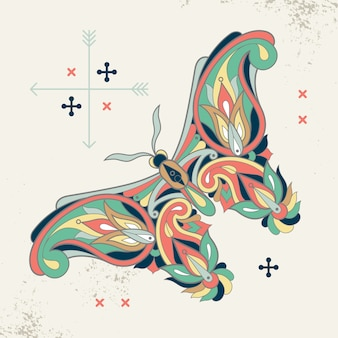 Decorative image of a butterfly.