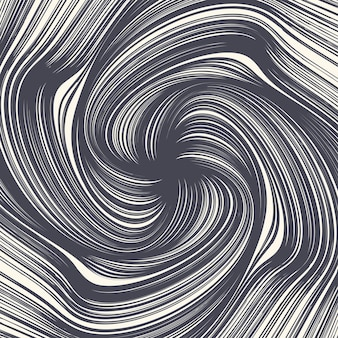 Decorative ink hand drawn twirl lines spiral abstract texture