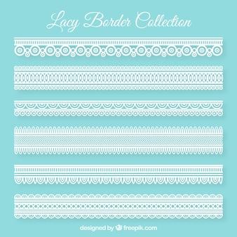 Decorative lace borders pack