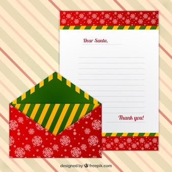 雪片の包絡線と装飾の手紙