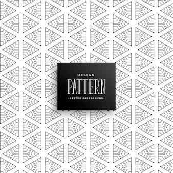 Decorative line triangle pattern background