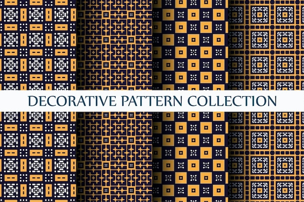 抽象的なスタイルで設定された装飾的な豪華なパターン