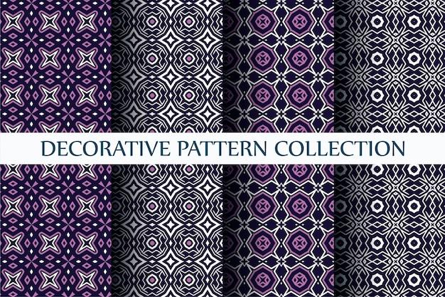 추상 스타일 설정 장식 럭셔리 패턴