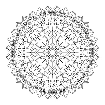 Decorative mandala design background