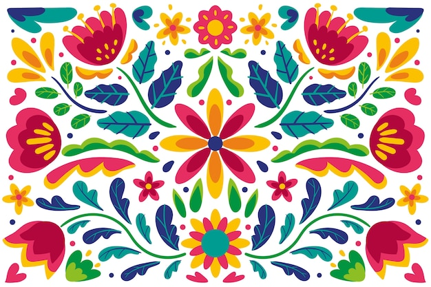Decorative mexican background