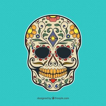 Decorative mexican skull