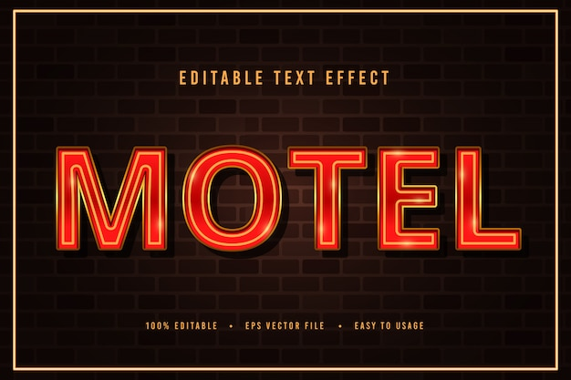 장식용 모텔 글꼴