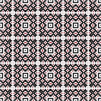 装飾的なモザイクパターンモチーフの背景