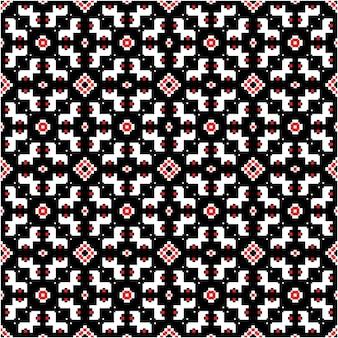 Декоративный мозаичный узор