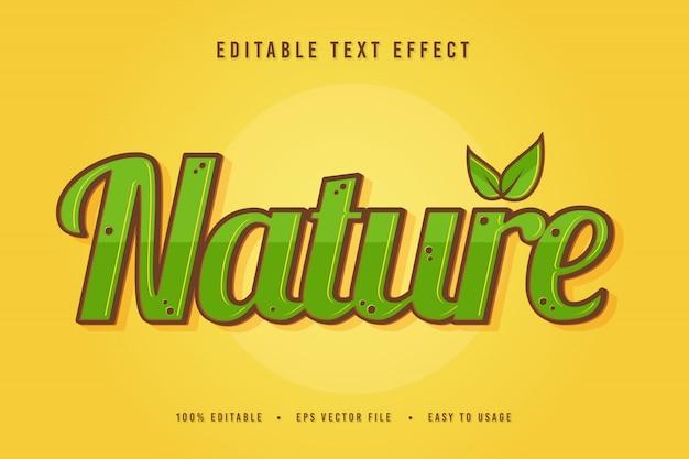 장식 자연 글꼴