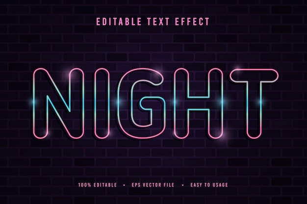 장식적인 밤 글꼴