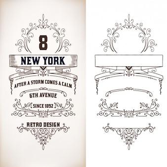 Decorative ornamental design