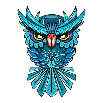 Decorative owl illustration