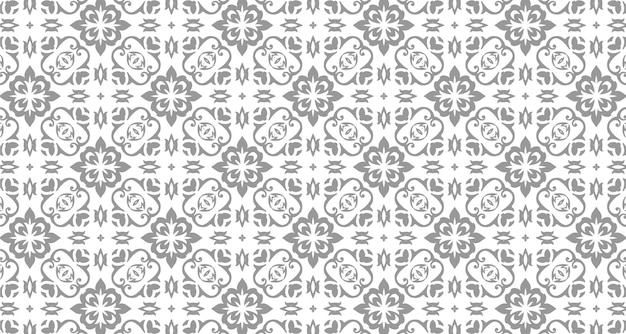 Decorative pattern design with ornament style