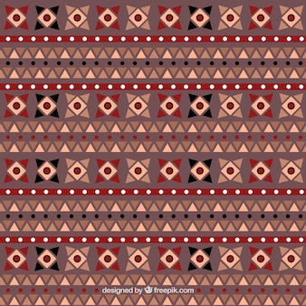 Decorative pattern in ethnic style