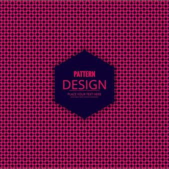 Decorative pattern in fuchsia color