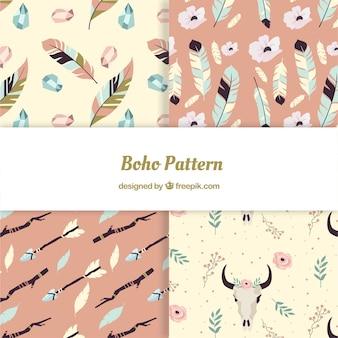 보헤미안 스타일의 장식 패턴
