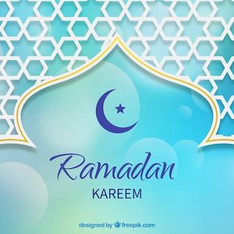 Decorative ramadan background