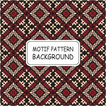 モチーフの装飾的なシームレスパターン背景