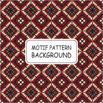 Decorative seamless pattern background with motif