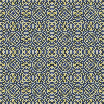 Декоративный бесшовный образец с абстрактным стилем и батиком
