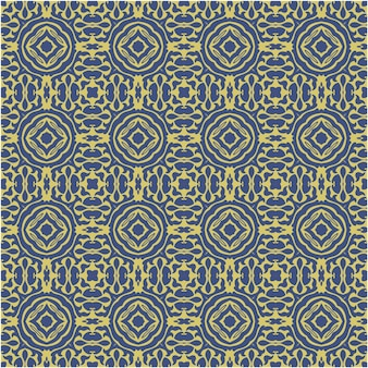 Decorative seamless pattern   with abstract and batik style