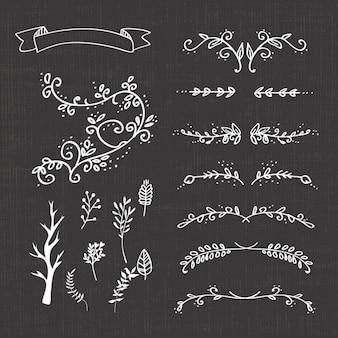Decorative separators collection