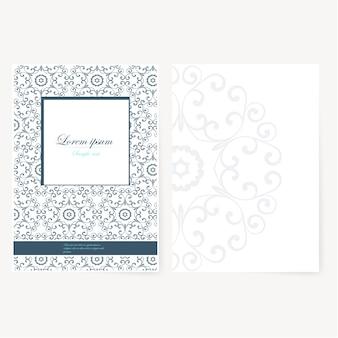 Foglio di carta decorativo con design orientale