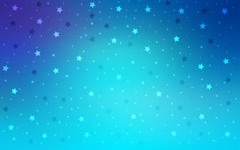 Decorative shining illustration with stars