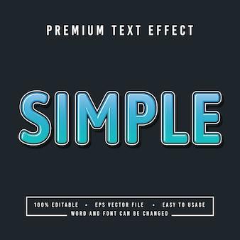 장식적인 간단한 글꼴