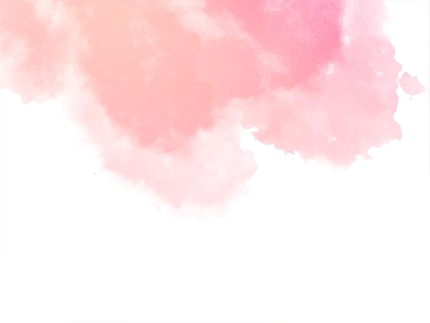 Decorative soft pink watercolor texture background