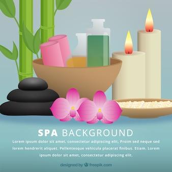 Decorative spa background