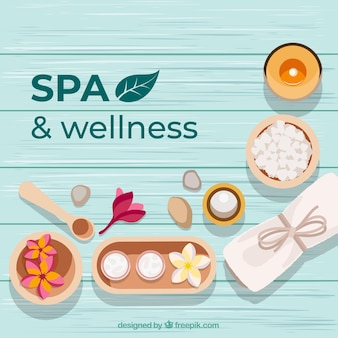 Decorative spa background