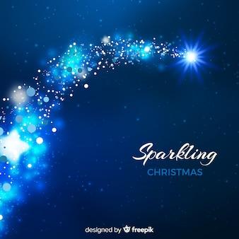 Decorative sparkling christmas background