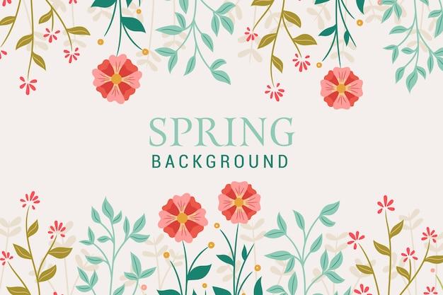 Decorative spring background