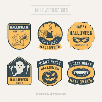 Decorative stickers for halloween