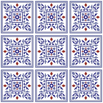 Decorative tile background