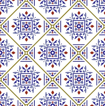 Decorative tile pattern