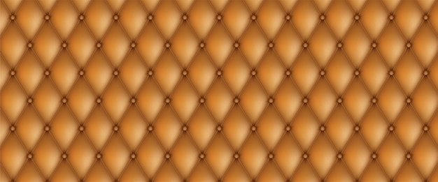 Декоративная обивка стеганого фона. реалистичная кожа текстура диван фон.