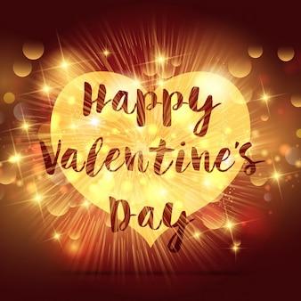 Sfondo decorativo san valentino con il cuore